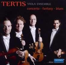 Tertis Viola Ensemble - Concerto.Fantasy.Blues, CD