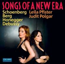 Leila Pfister - Songs of a new Era, CD