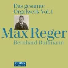 Max Reger (1873-1916): Das gesamte Orgelwerk Vol.1, 4 CDs
