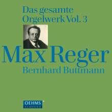 Max Reger (1873-1916): Das gesamte Orgelwerk Vol.3, 4 CDs