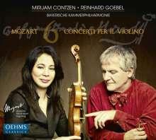 Wolfgang Amadeus Mozart (1756-1791): Violinkonzerte Nr.1-6, 2 CDs