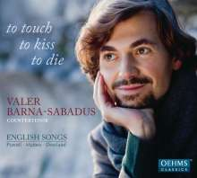 Valer Barna-Sabadus - To touch,to kiss,to die (English Songs), CD