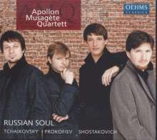Apollon Musagete Quartett - Russian Soul, CD