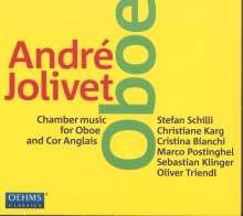 Andre Jolivet (1905-1974): Kammermusik für Oboe & Englisch Horn, CD
