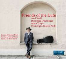 Friends of the Lute, CD