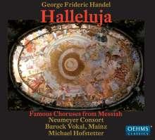"""Georg Friedrich Händel (1685-1759): Chöre aus """"Der Messias"""", CD"""