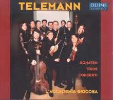 Georg Philipp Telemann (1681-1767): Concerti, Sonaten & Trios, CD