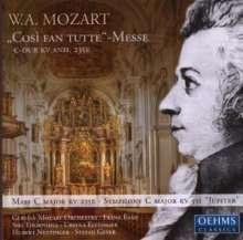 Wolfgang Amadeus Mozart (1756-1791): Cosi fan tutte-Messe C-Dur KV Anh.235E, CD