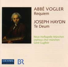 Georg Joseph Vogler (1749-1814): Requiem Es-Dur, CD