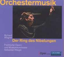 Richard Wagner (1813-1883): Orchestermusik - Der Ring des Nibelungen, CD