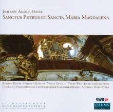 Johann Adolph Hasse (1699-1783): Sanctus Petrus et Sancta Maria Magdalena, CD