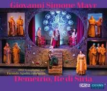 Johann Simon (Giovanni Simone) Mayr (1763-1845): Demetrio, Re di Siria, 2 CDs