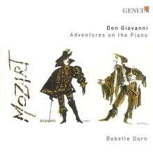 Babette Dorn - Don Giovanni Adventures on the Piano, CD