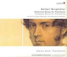 Norbert Burgmüller (1810-1836): Sämtliche Klavierwerke, CD