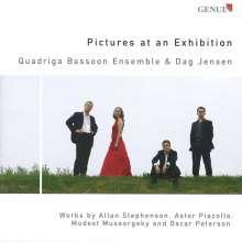 Modest Mussorgsky (1839-1881): Bilder einer Ausstellung (Fassung für Fagott Ensemble), CD