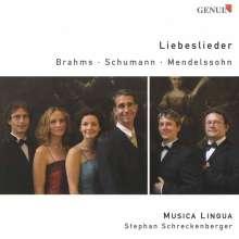 Musica Lingua - Liebeslieder, CD