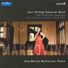 Carl Philipp Emanuel Bach (1714-1788): Klavierkonzert Wq.26, CD