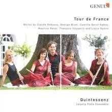 """Leipziger Flötenensemble """"Quintessenz"""" - Tour de France, CD"""