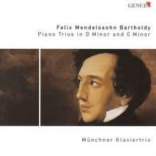 Felix Mendelssohn Bartholdy (1809-1847): Klaviertrios Nr.1 & 2, CD