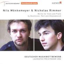 Nils Mönkemeyer & Nicholas Rimmer - Werke für Viola & Klavier, CD