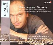 Francois Benda - Werke für Klarinette & Orchester, CD