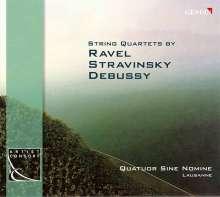 Maurice Ravel (1875-1937): Streichquartett F-dur, CD