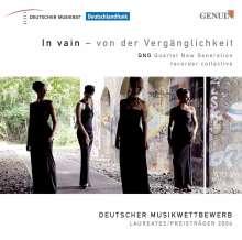 QNG - In Vain/Von der Vergänglichkeit, CD