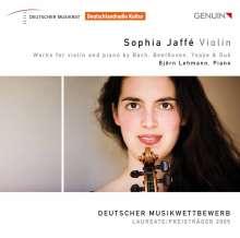 Sophia Jaffe,Violine, CD