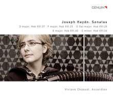 Joseph Haydn (1732-1809): Klaviersonaten H16 Nr.23,25,34,37,40 (arr.für Akkordeon), CD