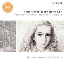 Felix Mendelssohn Bartholdy (1809-1847): Klavierquartett Nr.3, CD