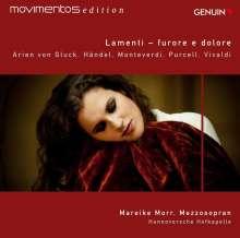 Mareike Morr - Lamenti - furore e dolore, CD