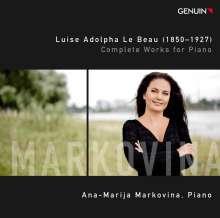 Luise Adolpha le Beau (1850-1927): Sämtliche Klavierwerke, CD