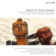 Musik für Viola d'Amore, CD