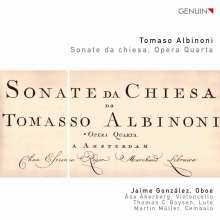 Tomaso Albinoni (1671-1751): Sonate da chiesa op.4 Nr.1-6, CD