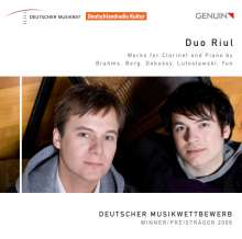 Duo Riul - Werke für Klarinette & Klavier, CD