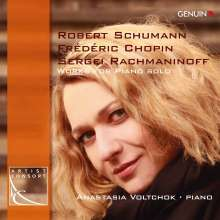 Anastasia Voltchok,Klavier, CD