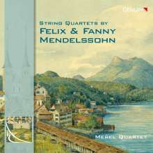 Fanny Mendelssohn-Hensel (1805-1847): Streichquartett in Es, CD