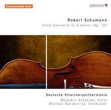 Robert Schumann (1810-1856): Cellokonzert op.129 (arr. für Cello & Streichorchester), CD
