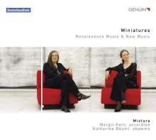 Miniatures - Musik für Schalmei & Akkordeon, CD