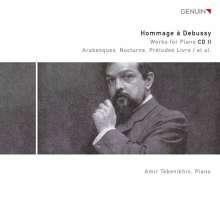 Claude Debussy (1862-1918): Hommage a Debussy Vol.2 - Werke für Klavier, CD