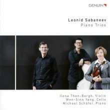Leonid Sabaneev (1881-1968): Klaviertrios, CD