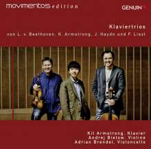 Kit Armstrong (geb. 1992): Stop Laughing: W're rehearsing! für Klaviertrio, CD