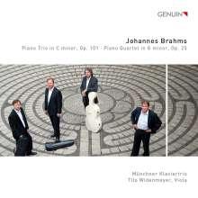 Johannes Brahms (1833-1897): Klavierquartett Nr.1 op.25, CD