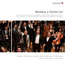 Banda Sinfonica Juvenil Simon Bolivar - Mambos y Fanfarria!, CD