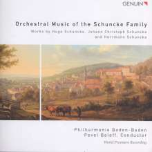 Orchestral Music of the Schuncke Family, CD