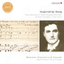 Inspired by Song - Klavierquintette von Vaughan Williams & Schubert, CD