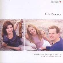 George Enescu (1881-1955): Klaviertrio a-moll, CD