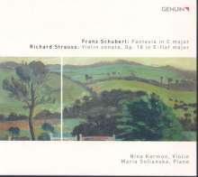 Richard Strauss (1864-1949): Sonate für Violine & Klavier op.18, CD
