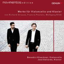 Benedict Kloeckner & Jose Gallardo - Werke für Violoncello und Klavier, CD