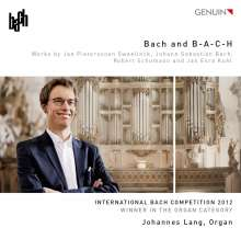 Johannes Lang - Bach and B-A-C-H, CD